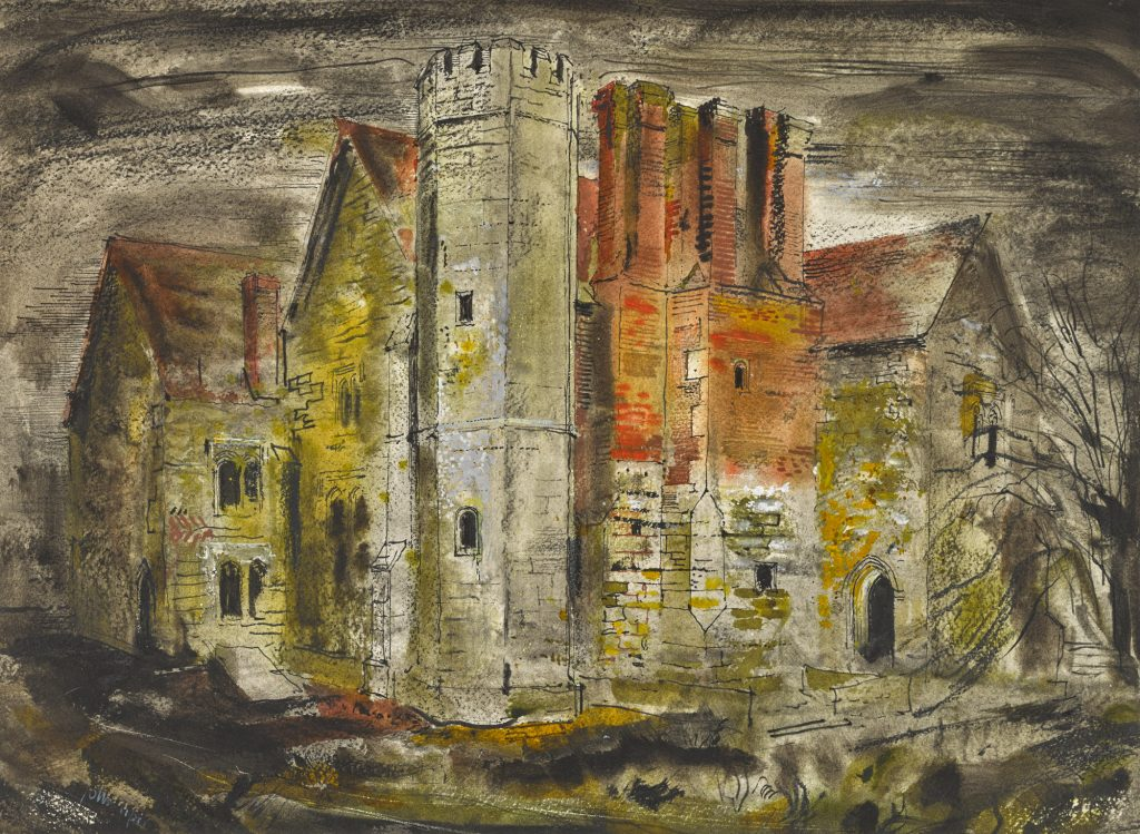 John Piper, Notley Abbey
