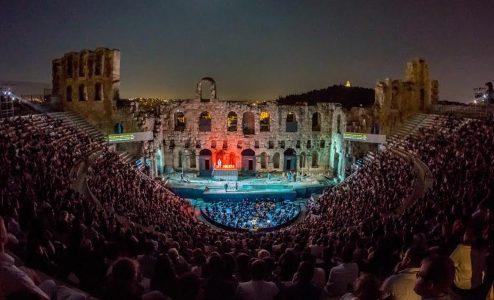Οιδίπους επί Κολωνώ για μία παράσταση στο Ηρώδειο