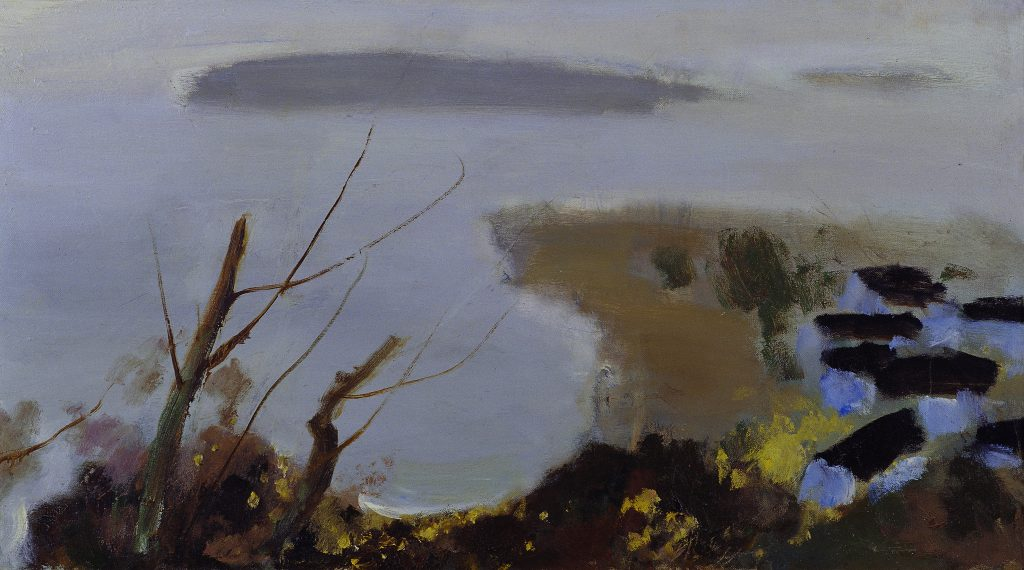 Early Spring, Su Tianci, 1988, Oil Painting, Collected by NAMOC