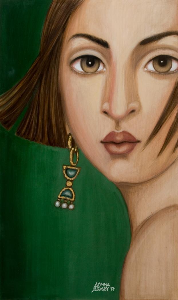Έκθεση ζωγραφικής Δόμνας Δέλλιου