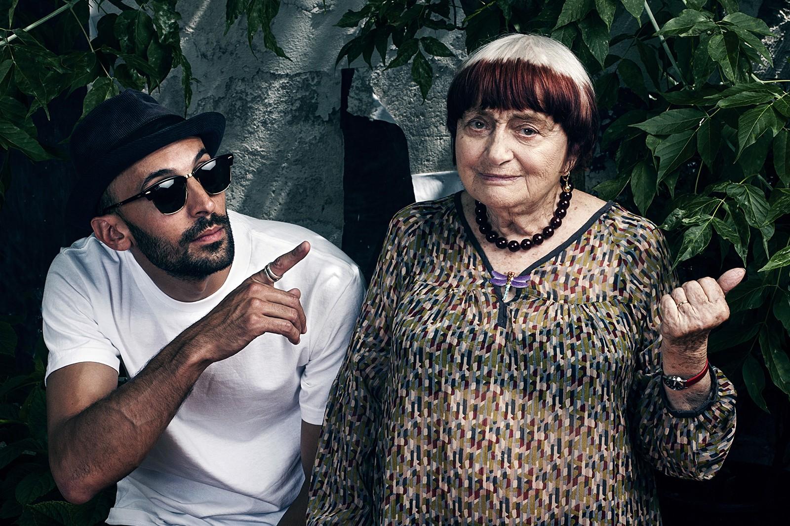 Ανιές Βαρντά και JR