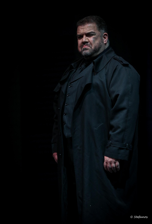 Ο Δημήτρης Πλατανιάς στον ρόλο του Ριγολέττου ©Stefanos