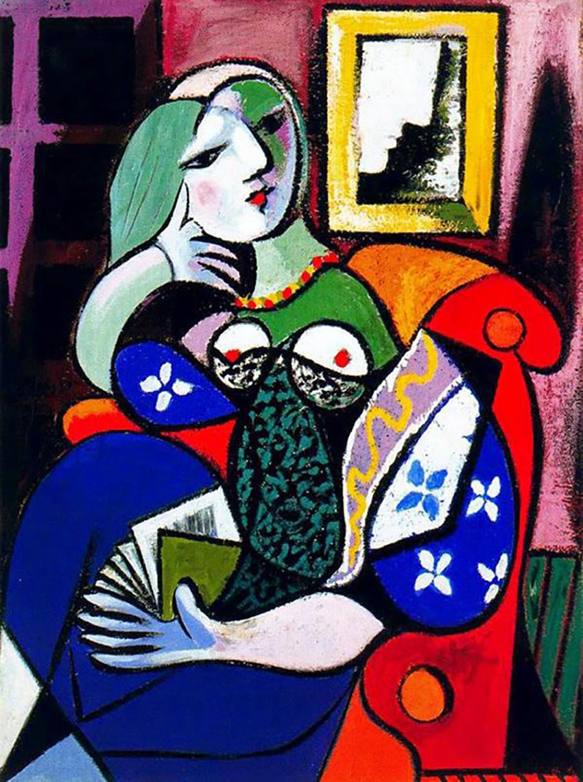 Femme avec Livre, 1932