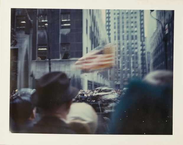 New York Parade, 1972. Photograph: © Wim Wenders/Courtesy the Wim Wenders Foundation