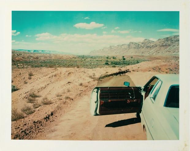 Valley of the Gods, Utah, 1977. Photograph: © Wim Wenders/Courtesy Deutsches Filminstitut Frankfurt