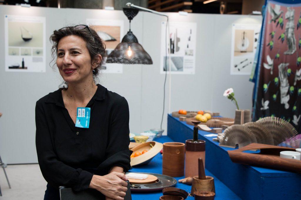 Η σχεδιάστρια Χριστίνα Σκουλούδη