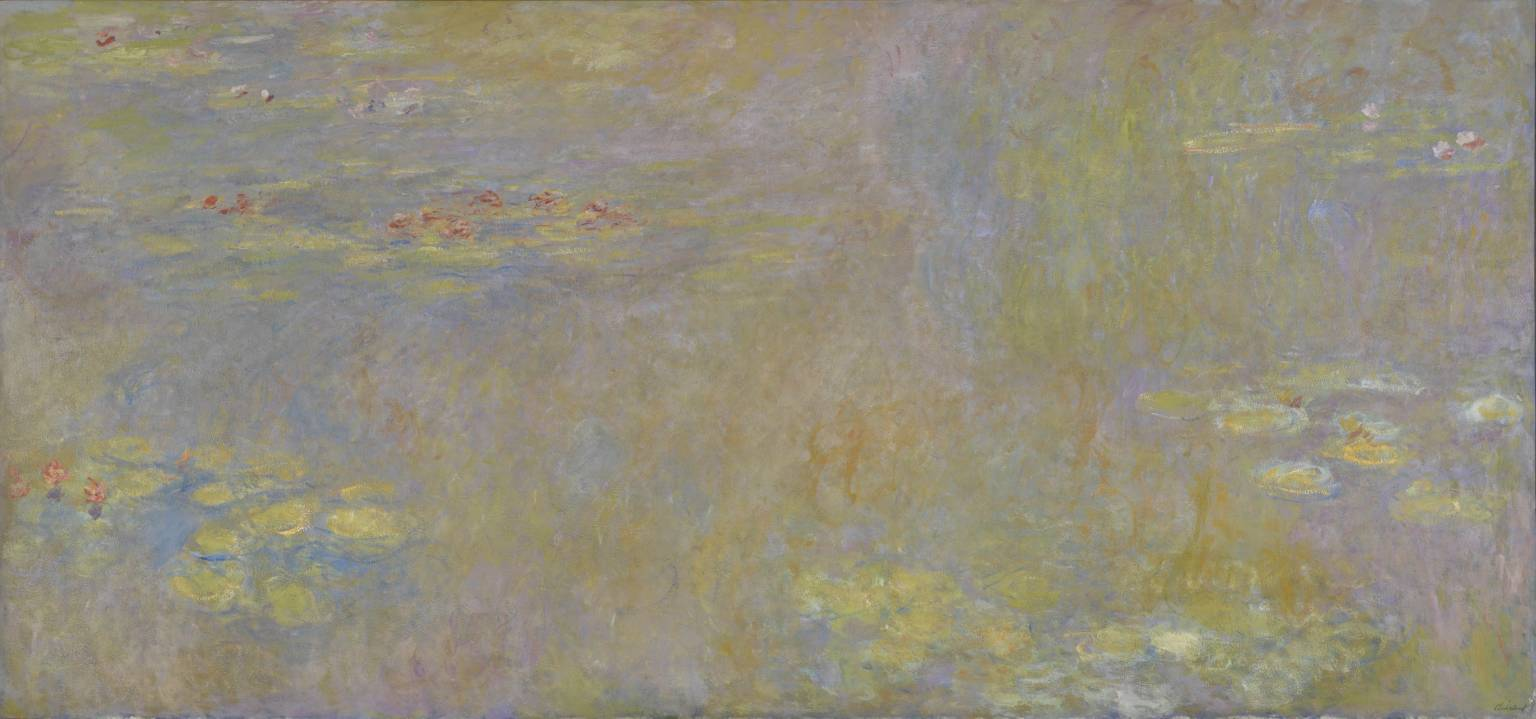 Water-Lilies after 1916 Claude Monet 1840-1926 Lent by the National Gallery 1997, Τate.org.uk