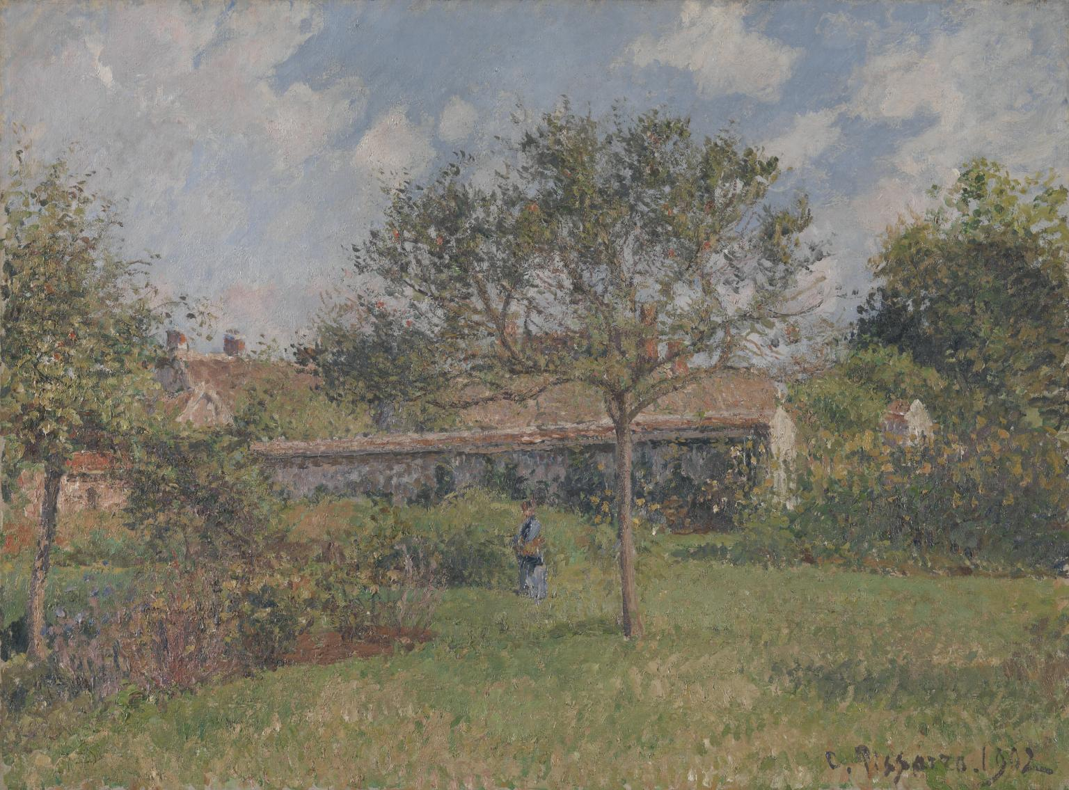 A Corner of the Meadow at Eragny 1902 Camille Pissarro 1830-1903 Presented by Mrs Esther Pissarro, the artist's daughter-in-law 1951 Tate.org.uk