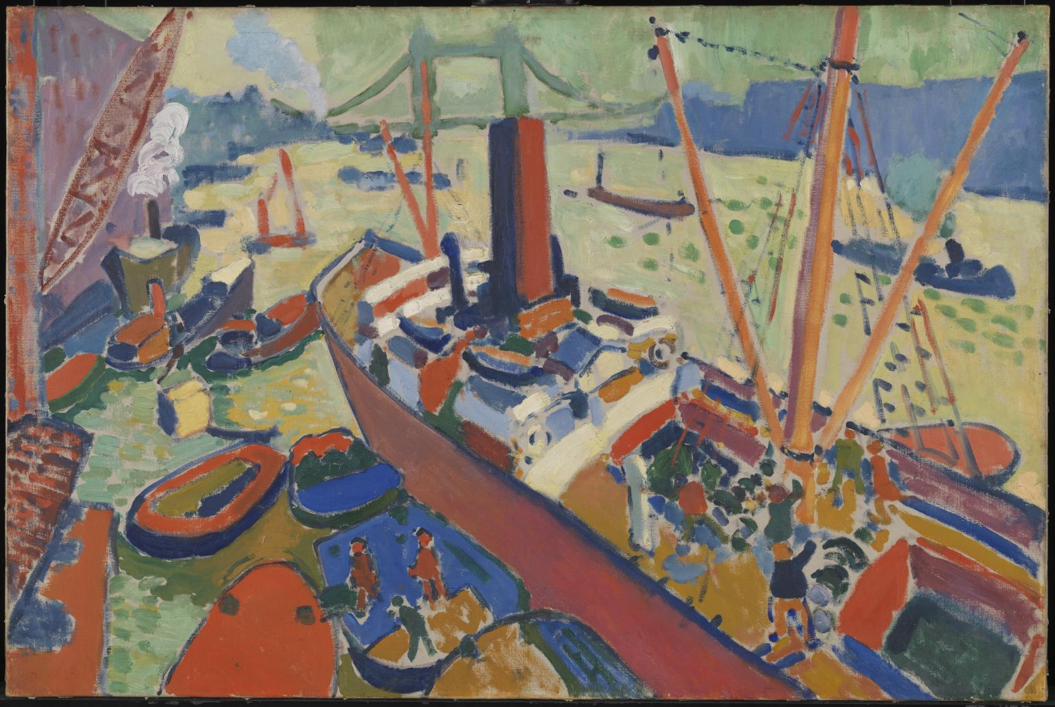 The Pool of London 1906 André Derain 1880-1954 Tate.org.uk
