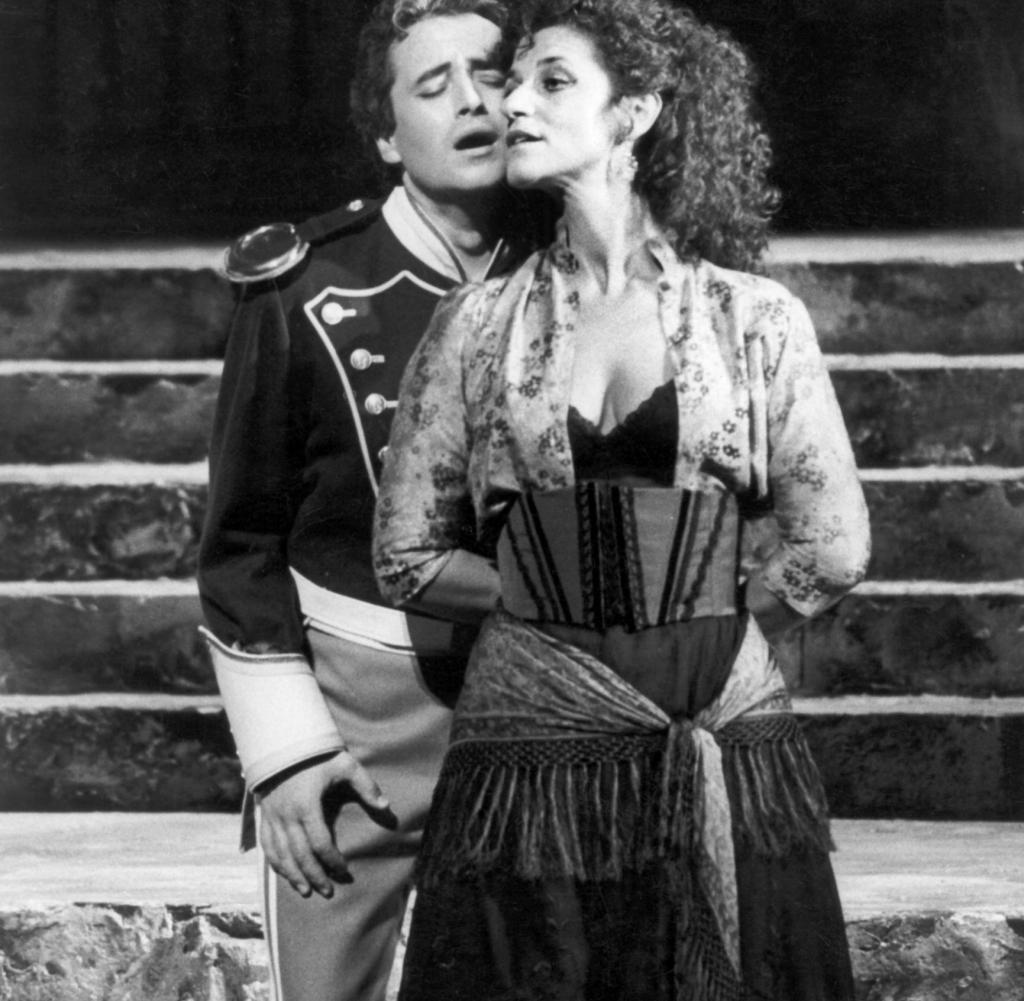 Κάρμεν, με τον Χοσέ Καρρέρας, Σάλτσμουργκ, 1985