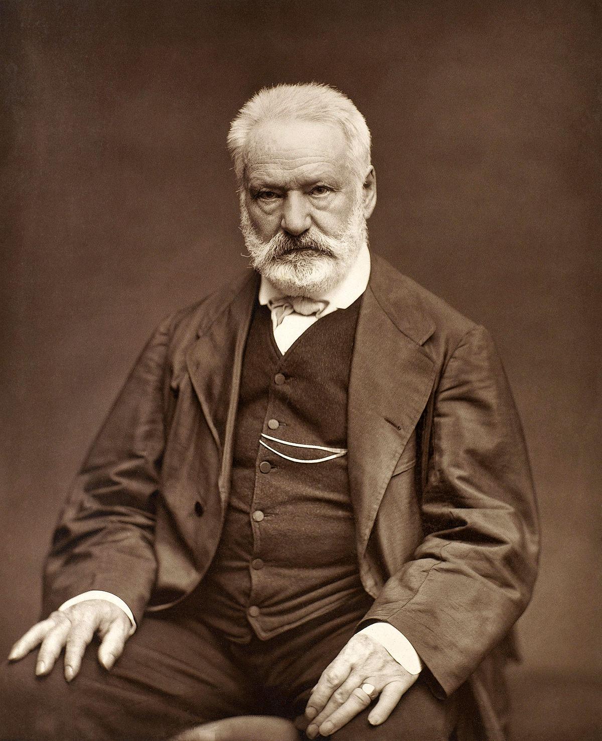 O Βίκτωρ Ουγκώ από τον Étienne Carjat, 1876 - Εθνική Βιβλιοθήκη της Γαλλίας
