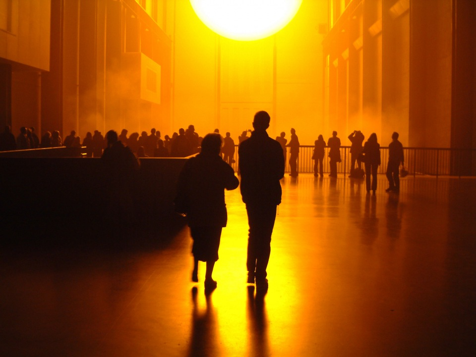 Olafur Eliasson, The Weather Project, 2003