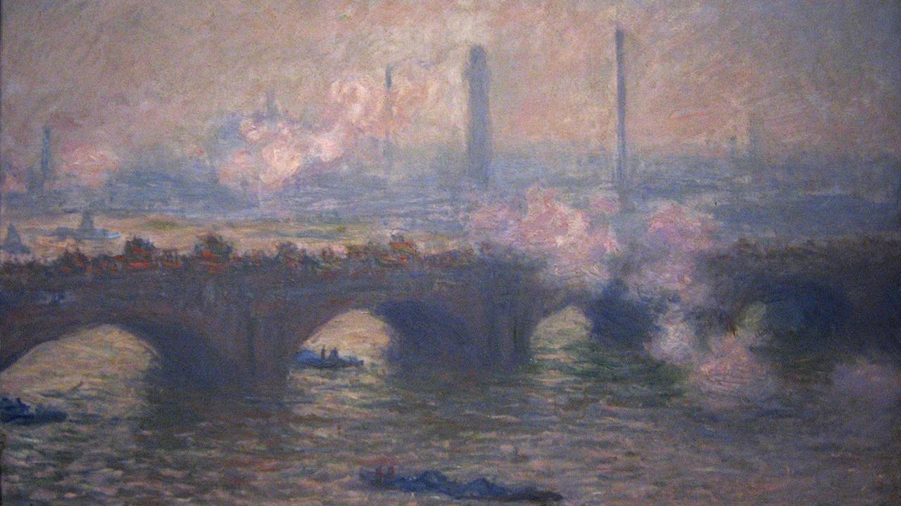 Claude Monet, Waterloo Bridge, Grey Day, 1903