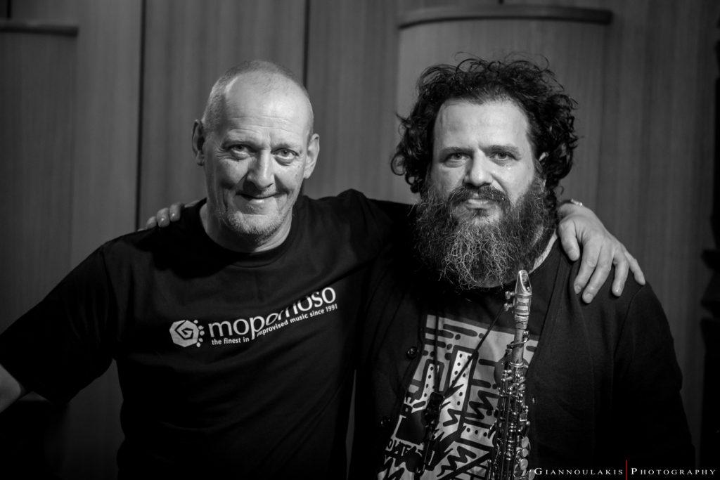 Duo Alex Maguire & Nikolas Skordas ©Δημήτρης Γιαννουλάκης
