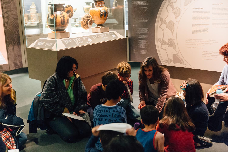 Εκπαιδευτικά προγράμματα Δεκεμβρίου 2017 στο Μουσείο Κυκλαδικής Τέχνης
