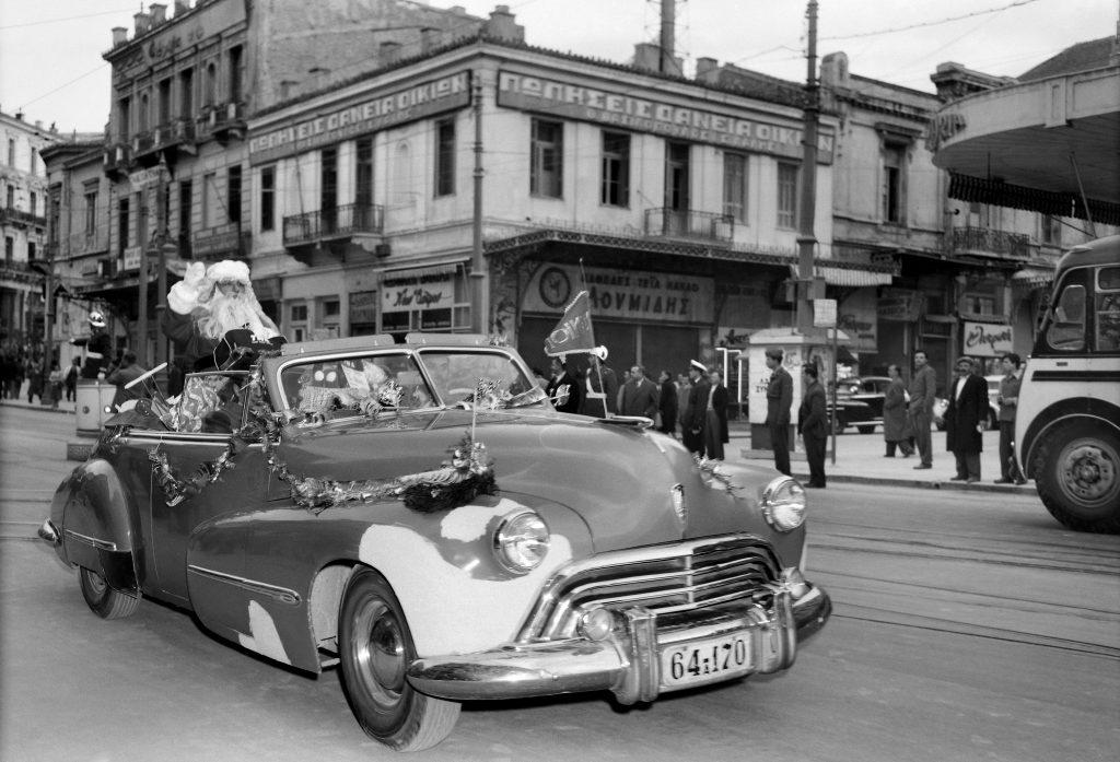 Ομόνοια, Αθήνα, 1953, © Φωτογραφικά Αρχεία Μουσείου Μπενάκη, Δημήτριος Χαρισιάδης