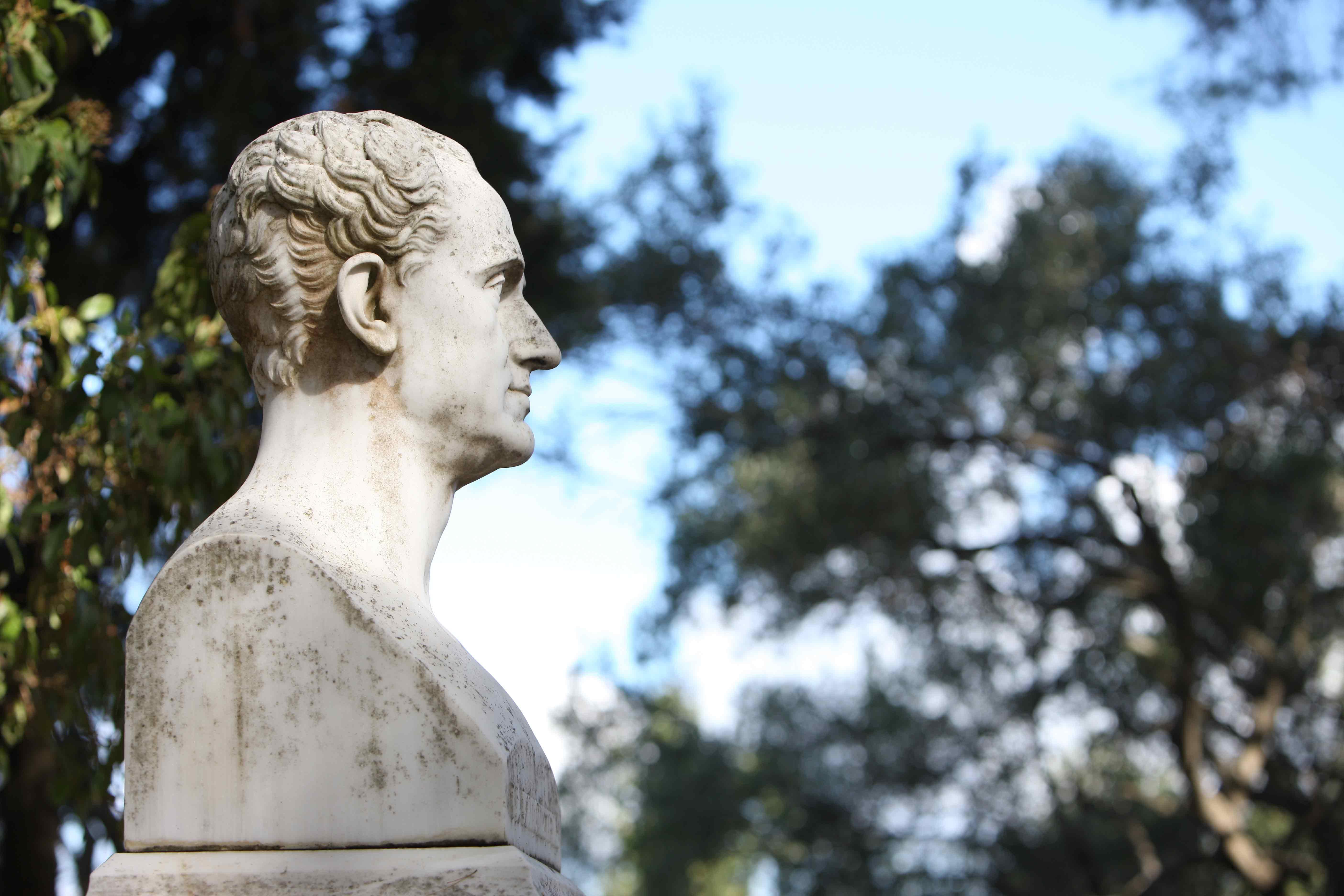 Προτομή του Ι. Καποδίστρια στο ξέφωτο του Μουσείου - © Σταμάτης Καταπόδης