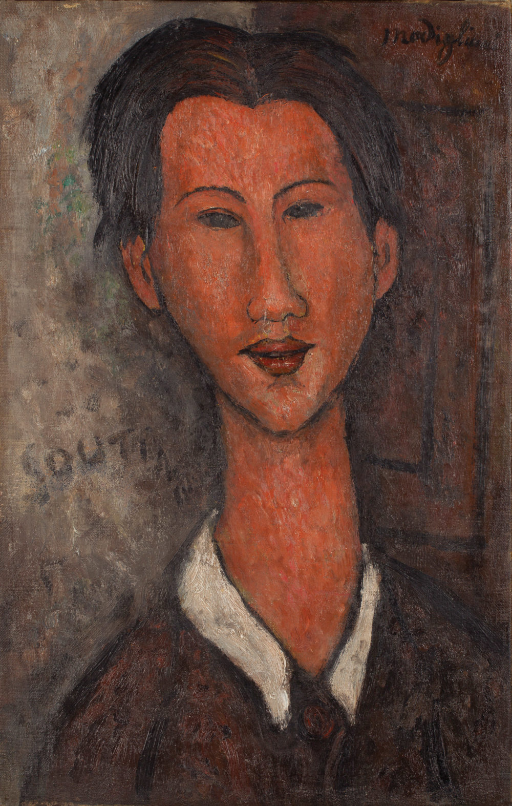 Portrait of Chaim Soutine, ένα από τα έργα που θεωρούνται πλαστά.