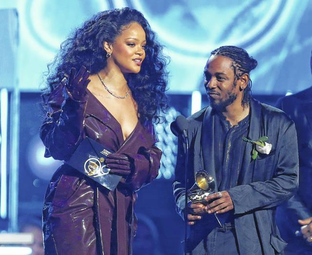 Rihanna και Kendrick Lamar - ©Matt Sayles/Invision/AP