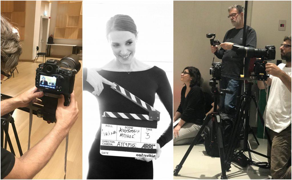 Στιγμιότυπα από τα γυρίσματα του ντοκιμαντέρ