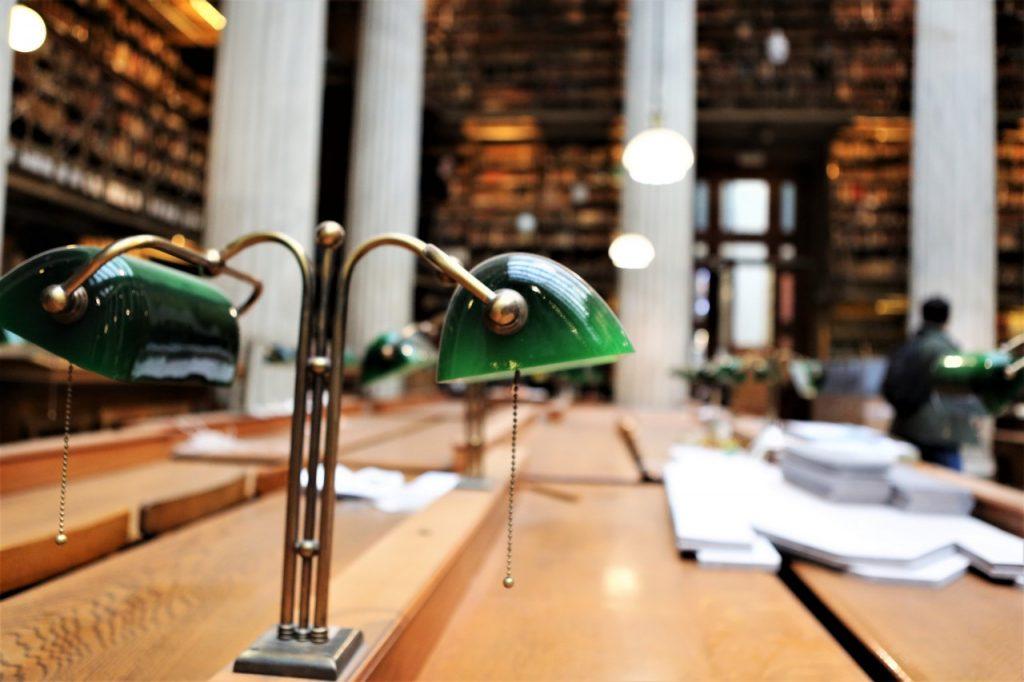 Αίθουσα του Κεντρικού Αναγνωστηρίου στο Βαλλιάνειο