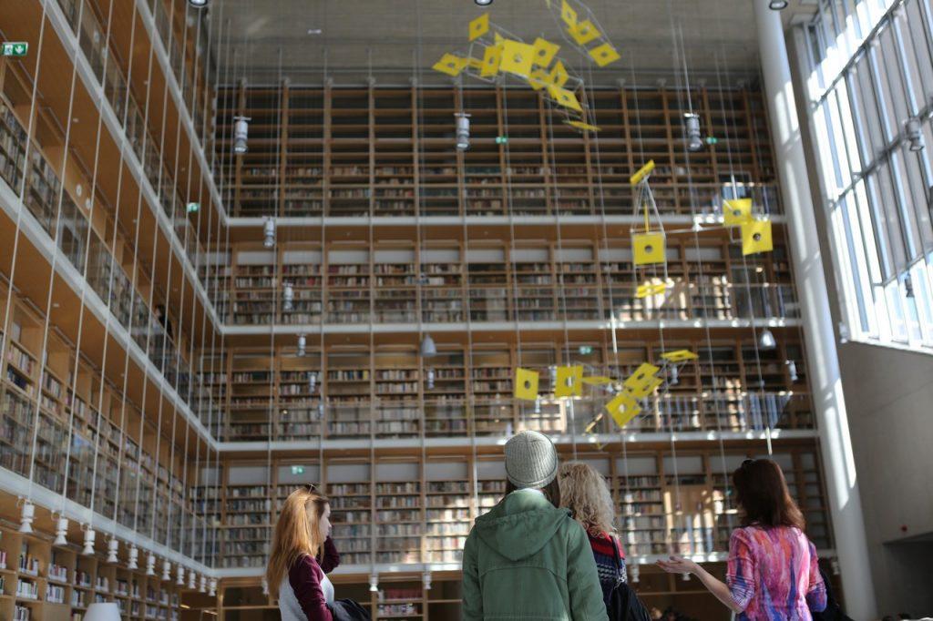 Οι νέες εγκαταστάσεις της Εθνικής Βιβλιοθήκης της Ελλάδος στο ΚΠΙΣΝ