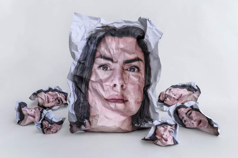 """Ματσαμάκη Γεωργία Piece VI Από τη σειρά """"Pieces"""", 2016"""