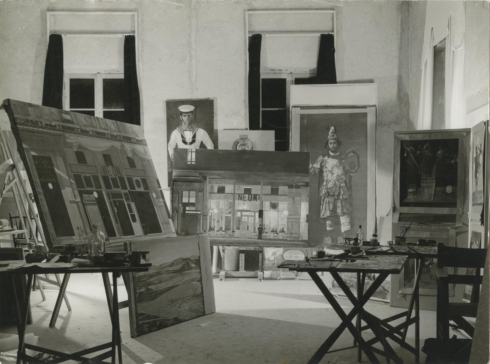 Το σπίτι, εργαστήριο και Μουσείο του Γιάννη Τσαρούχη