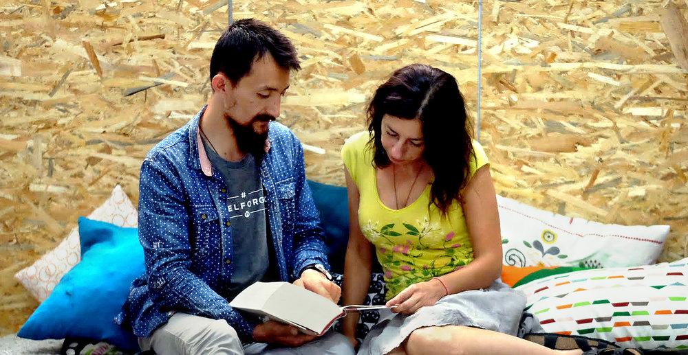 Ο Ναντίρ Νούρι και η Ιωάννα Νισυρίου