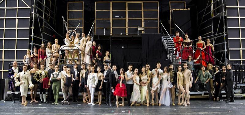 Το Μπαλέτο της Εθνικής Λυρικής Σκηνής ©Κωνσταντίνος Ρήγος
