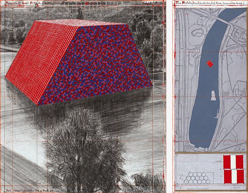 Ο Μασταμπάς (πρότζεκτ για τη λίμνη Serpentine στο Hyde Park