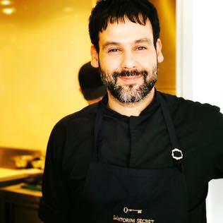 O chef Γιώργος Χωραΐτης