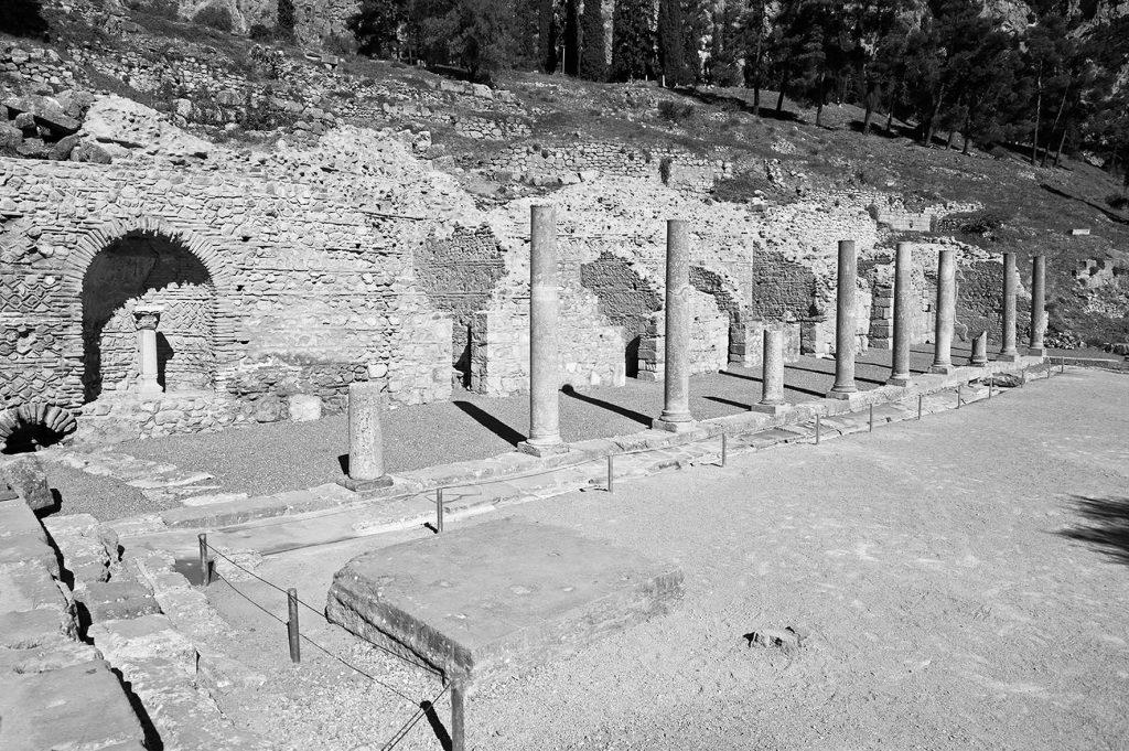 Αρχαιολογικός Χώρος Δελφών, Ρωμαϊκή Αγορά