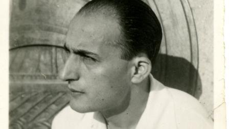 Ο Νίκος Γκάτσος σε ηλικία 28 χρονών (1939-40)