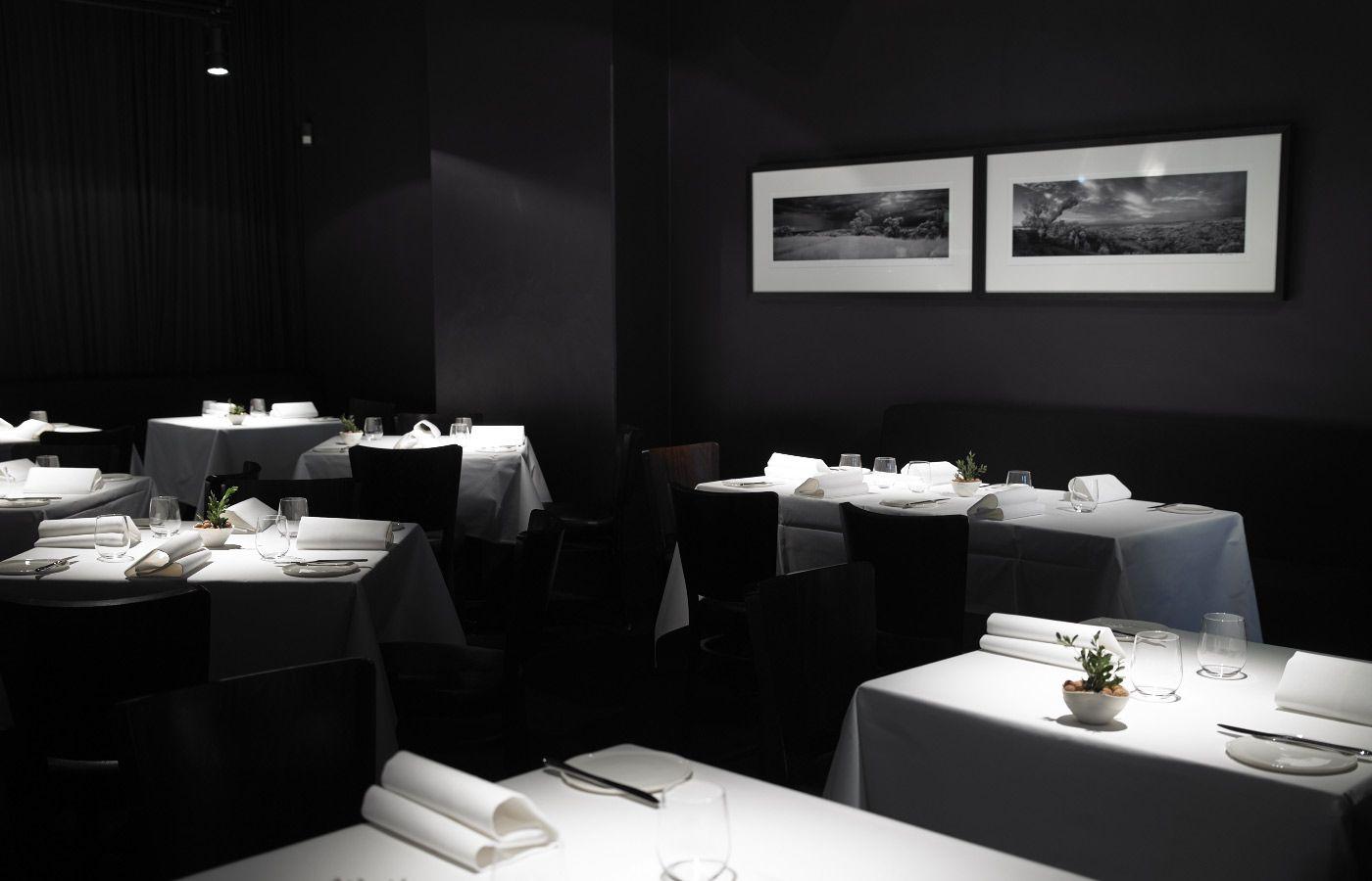 Άποψη του εστιατορίου Attica.