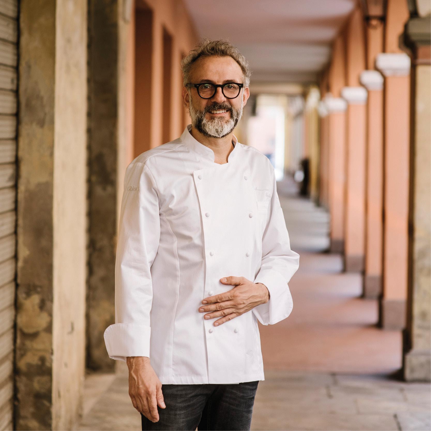 Ο Massimo Bottura, chef του Osteria Francescana.