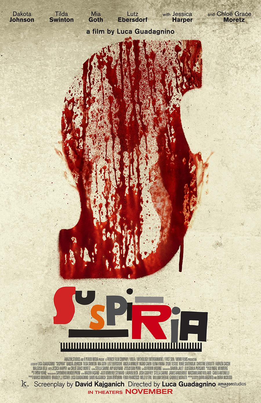 Η αφίσα του Suspiria