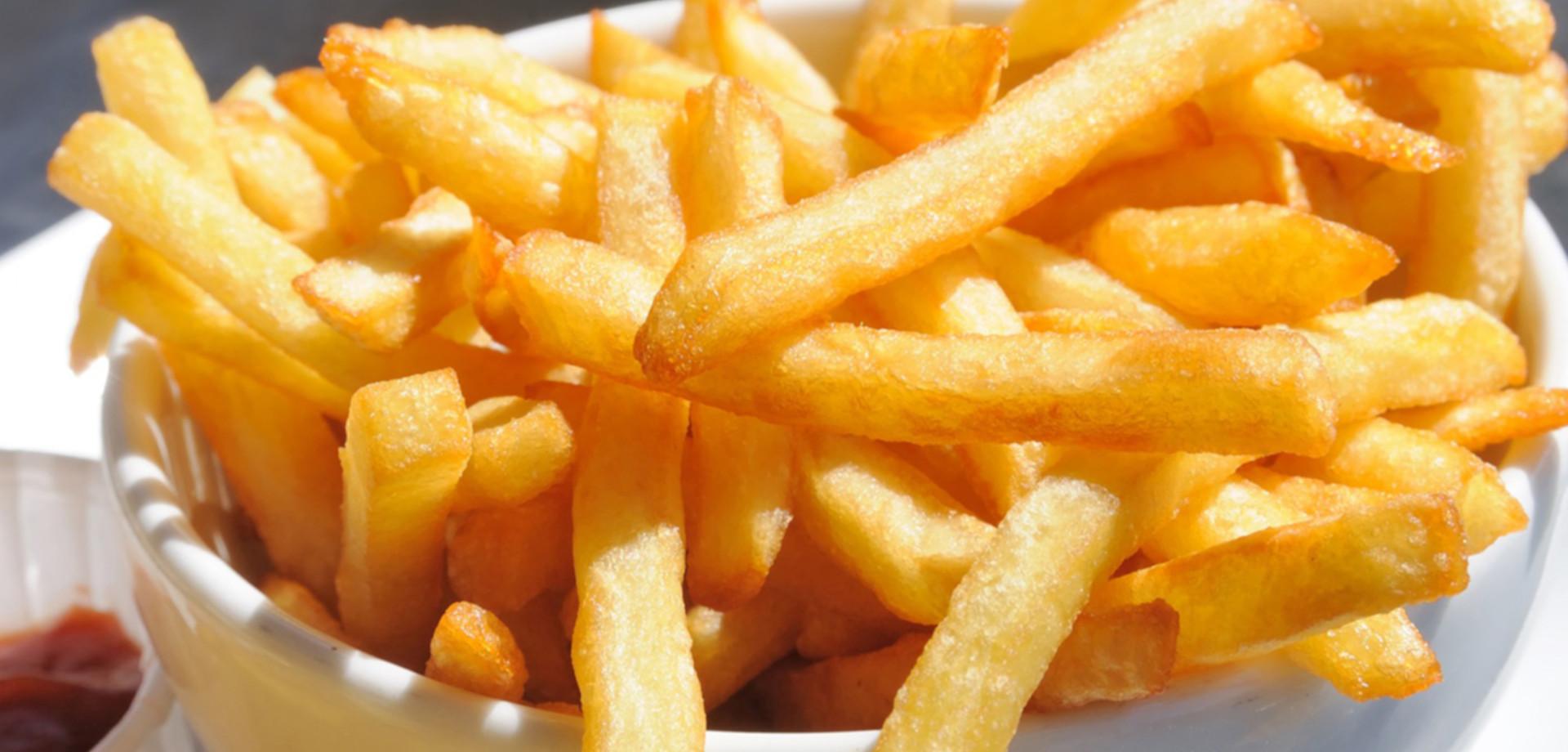 τηγανητή πατάτα