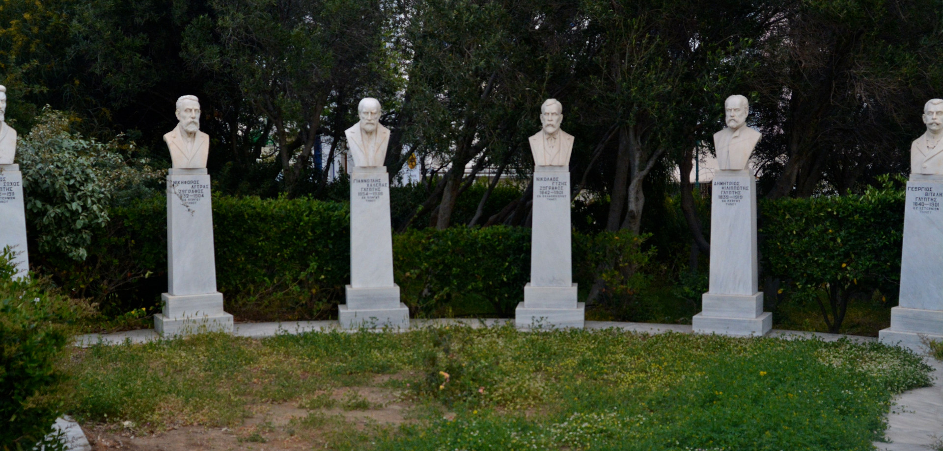 Εφήμεροι Κήποι στη Τήνο