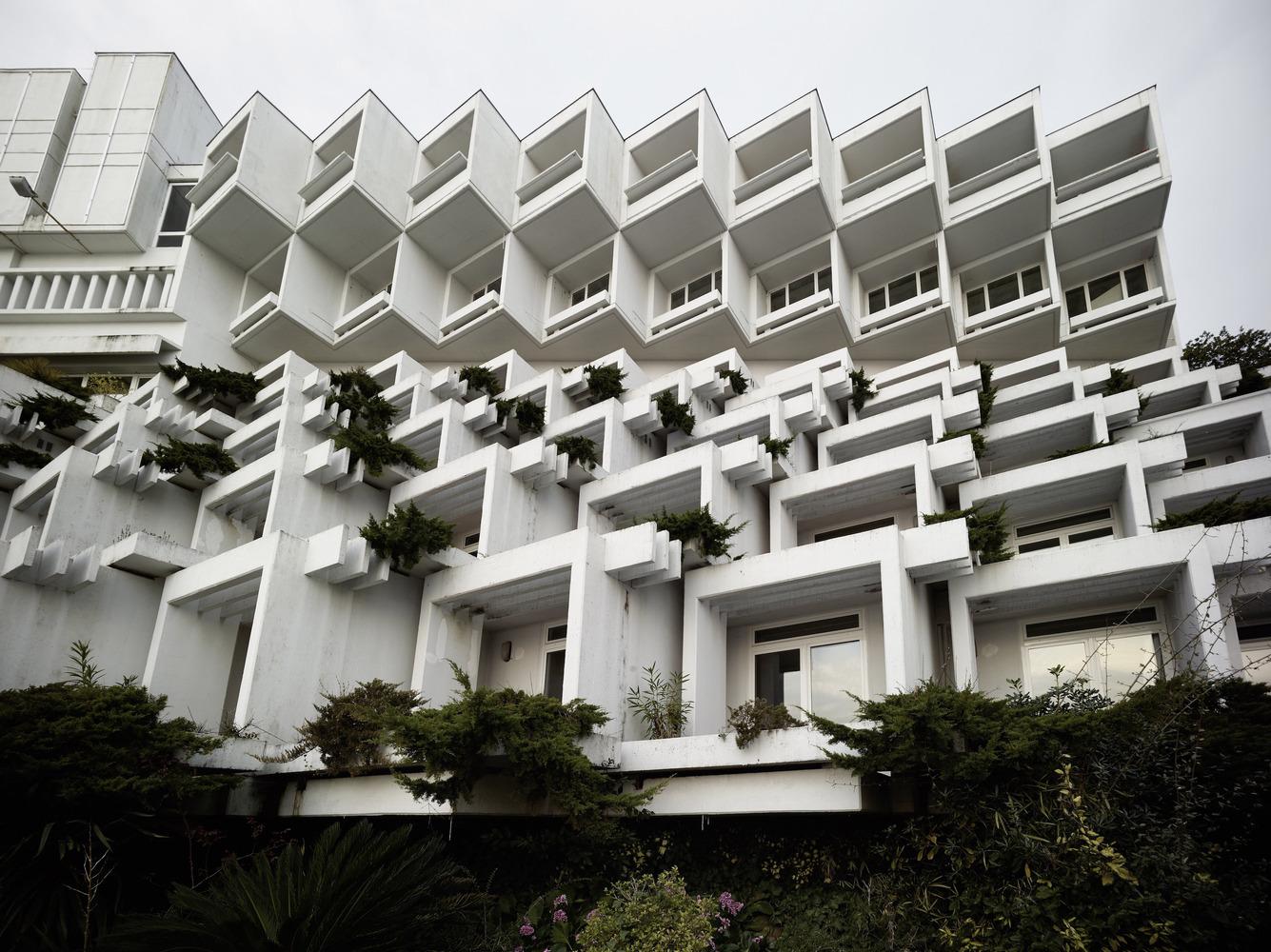 Branko Žnidarec / Ξενοδοχείο Adriatic II, 1970–71 / Οπατίγια, Κροατία / Φωτό: Valentin Jeck