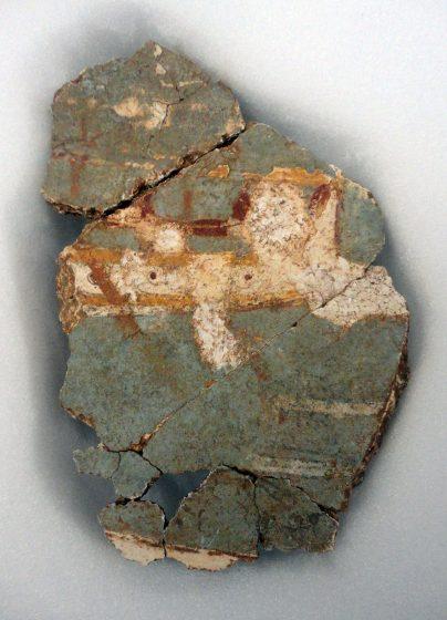 Σπάραγμα τοιχογραφίας, Ίκλαινα / Περίπου 1450 – 1390 π.Χ.