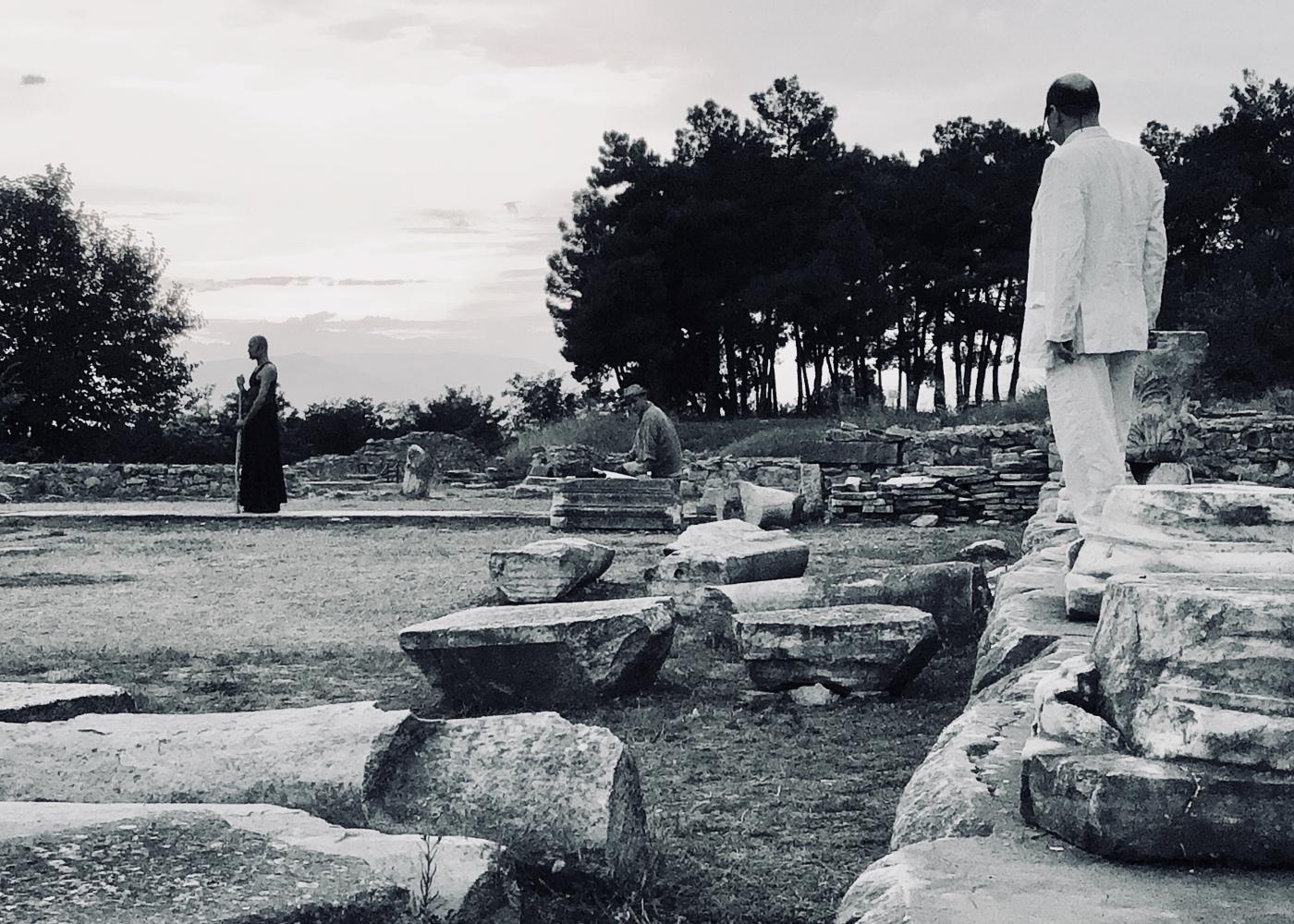 Φωτογραφία της παράστασης «Οιδίπους – Ανασκαφή δεύτερη»