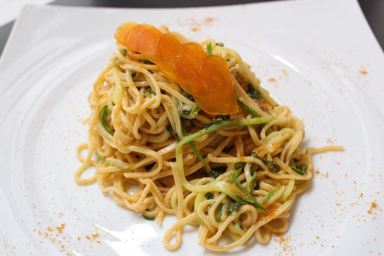 Τα περίφημα Spaghetti alla Chitarra.