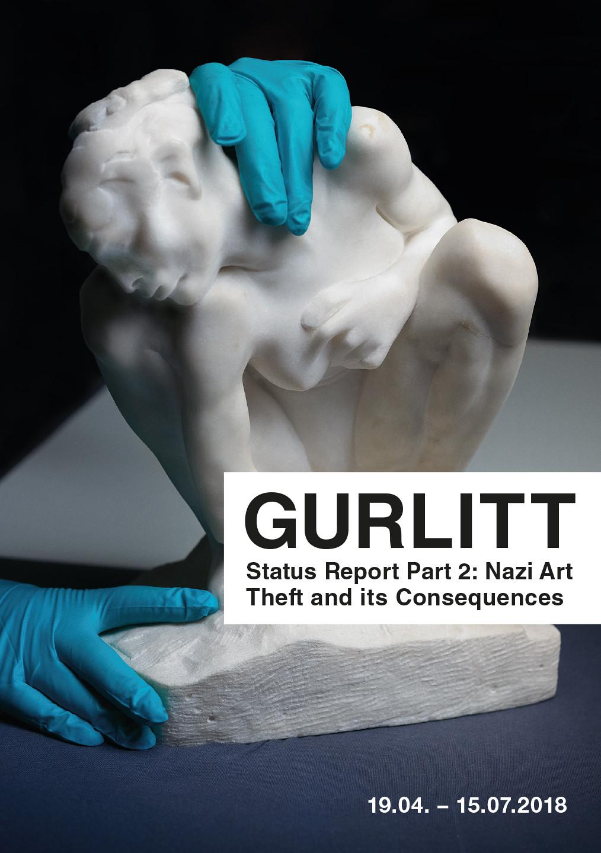 Auguste Rodin, Kauernde, c. 1882. Marble, 33.5 x  27.5 x 18 cm. Kunstmuseum Bern, Legat Cornelius Gurlitt 2014. © Kunst- und Ausstellungshalle der Bundesrepublik Deutschland GmbH, Bonn. Photo: Albrecht Fuchs.