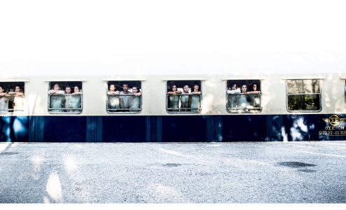 """Αμαξοστοιχία-Θέατρο το Τρένο στο Ρουφ 3ο Φεστιβάλ Σύγχρονου Χορού """"Compartments Dance Project"""""""
