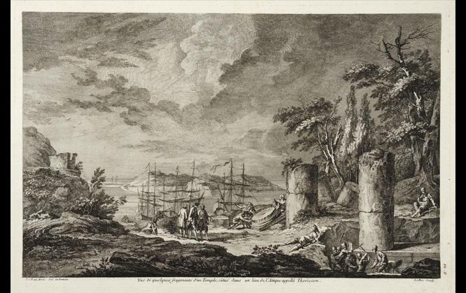 J. D. Le Roy Les Ruines des plus beaux monuments de la Grèce Παρίσι 1770