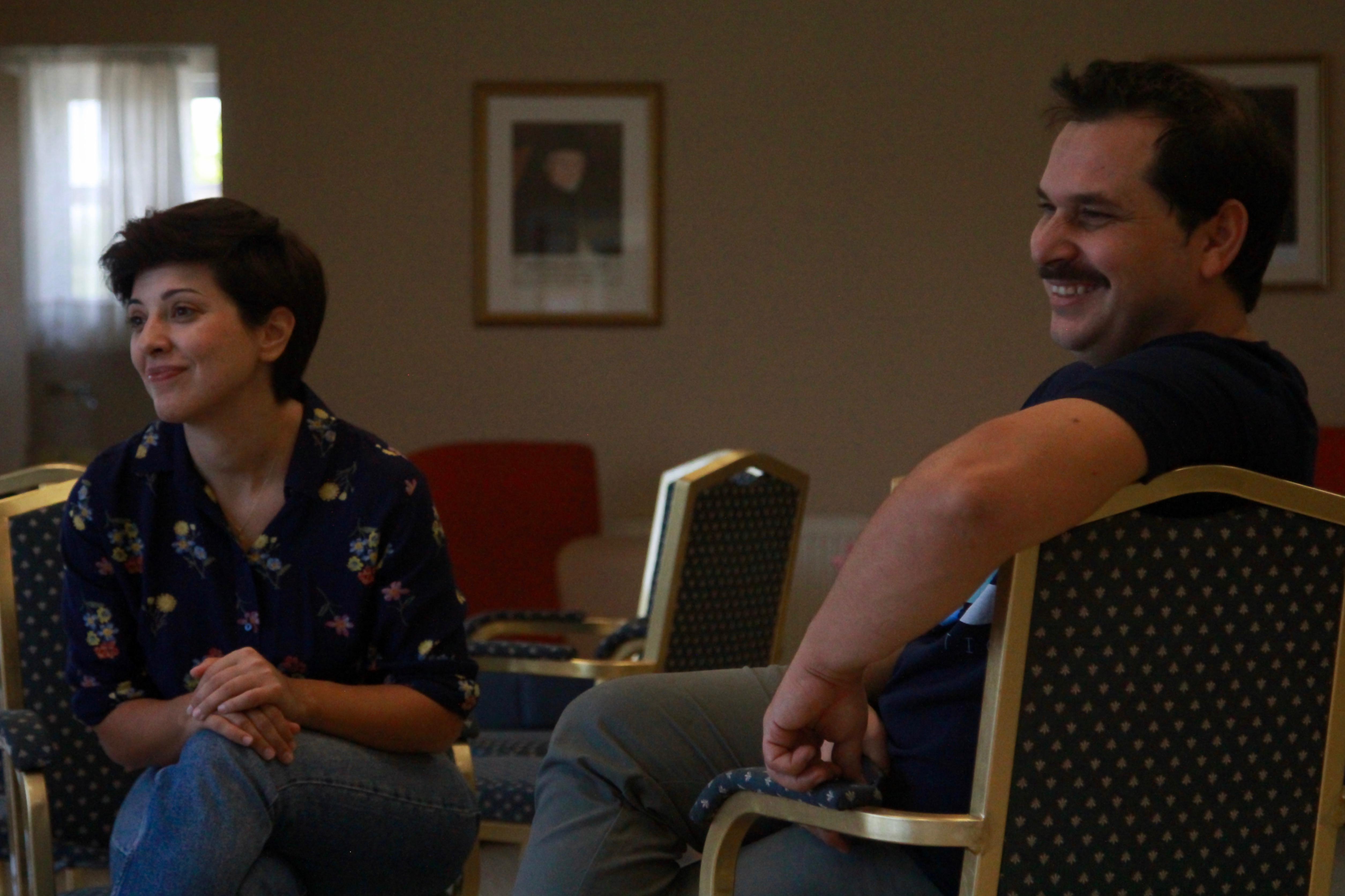Ο Νότης Παρασκευόπουλος και η Κωνσταντίνα Μαλτέζου πιστεύουν ότι το γήρας θέλει χαμόγελο