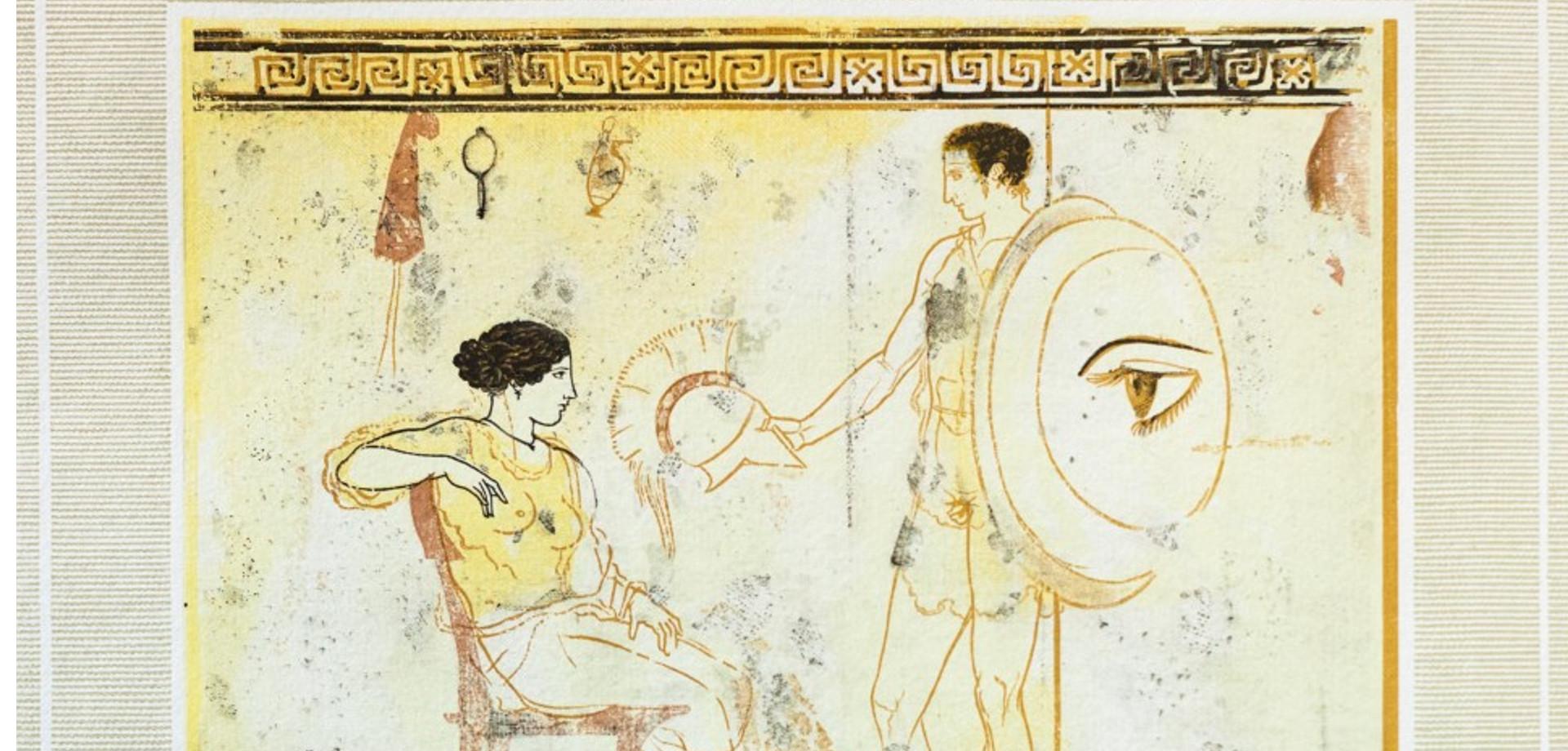 Δέκα λευκαί λήκυθοι του Μουσείου Αθηνών