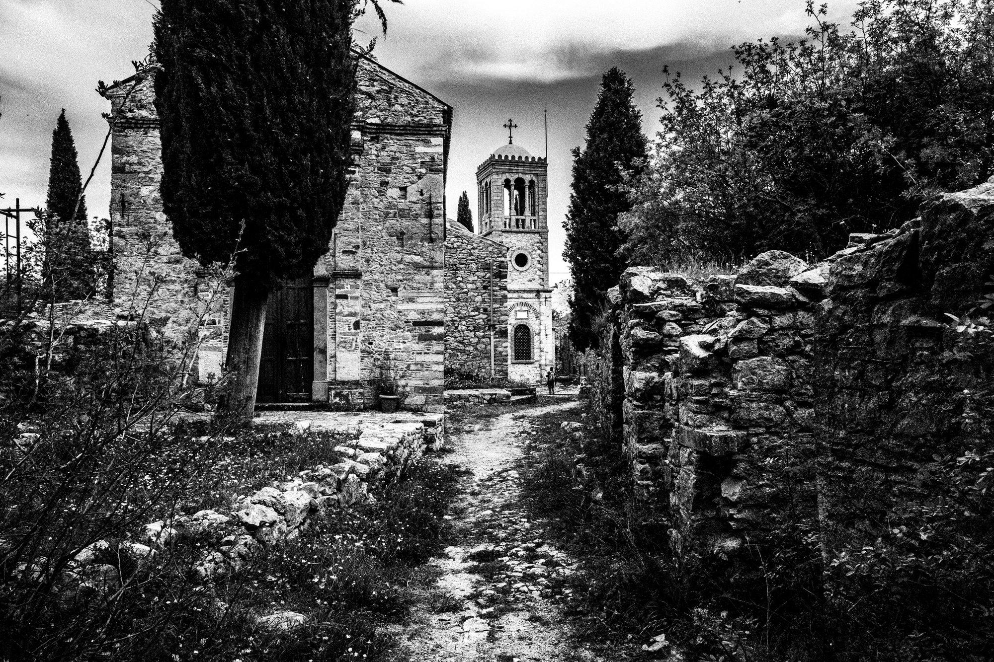 Nea Moni monastery Ελλάδα. Βόρειο Αιγαίο. Chios.