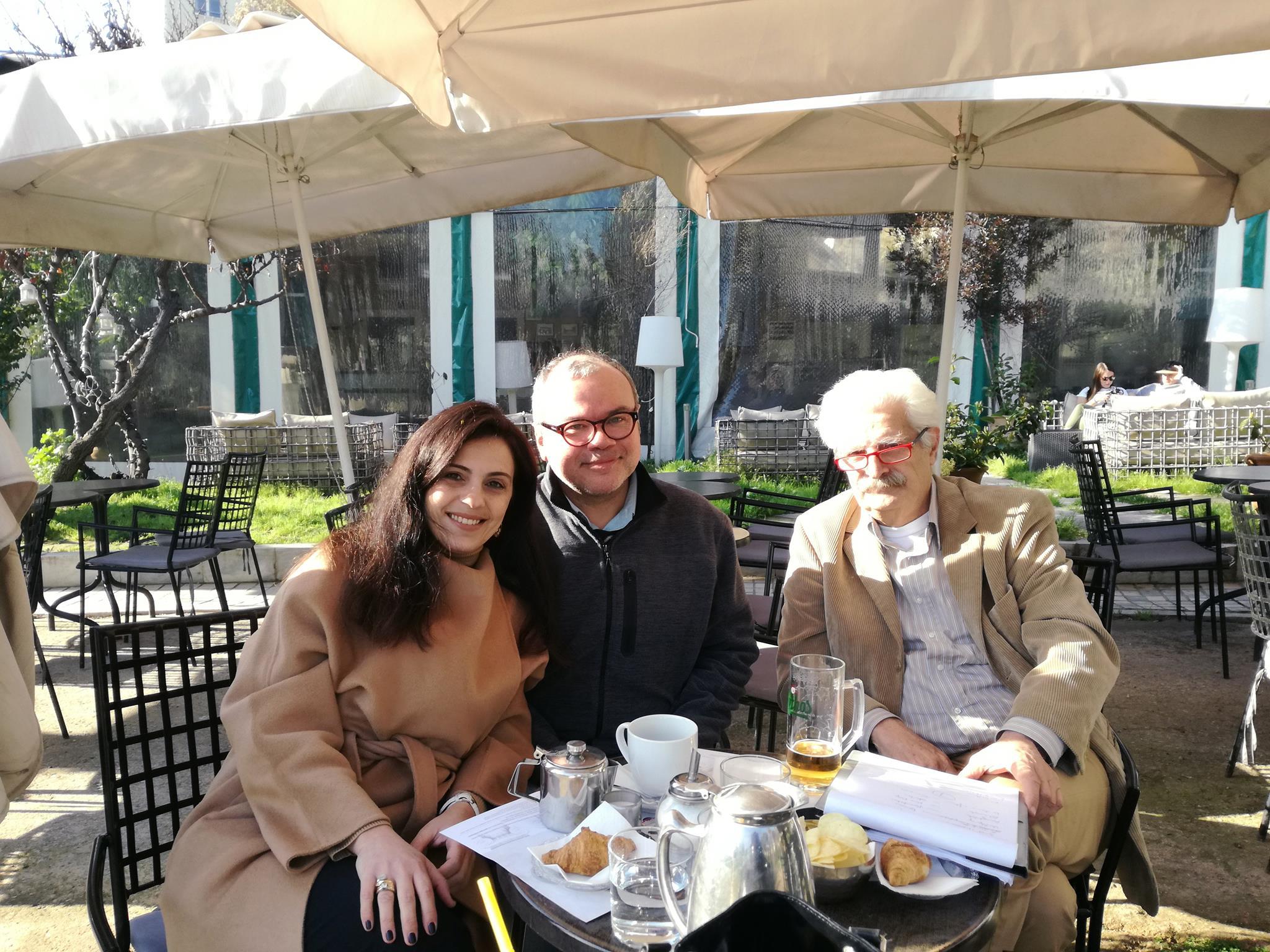 Αθηνά Σοκόλη, Maurizio De Rosa & Enzo Terzi